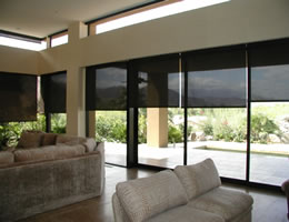Grey Smart Weave 3% Screen Roller Shades