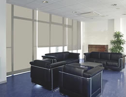 Cream Smart Weave 5% Screen Roller Shades
