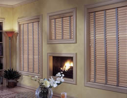 Pecan One Day 2 inch Wood Blinds