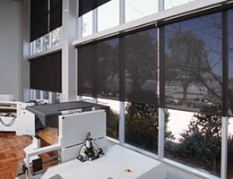Grey Phifer SheerWeave 4000 Roller Shades - 5%