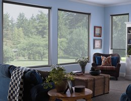 Grey Sheer Weave Roller Shades - 14%