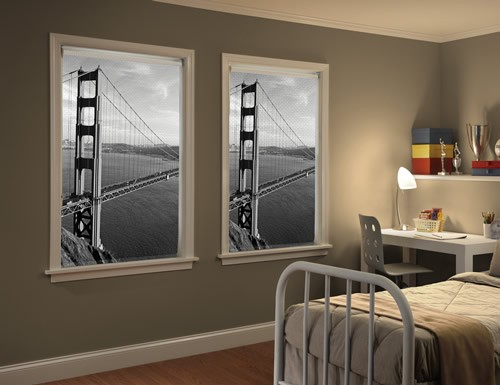 Cityscape Window Blinds Roller Shades City Scapes