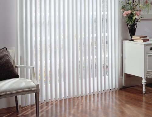 Grey Legends 3 1/2 inch PVC Vertical Blinds