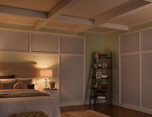 "SlumberShade 3/8"" Double Cell Blackout Shades"