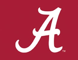 Alabama Crimson Tide Roller Shades