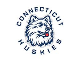 Blue Connecticut Huskies Roller Shades