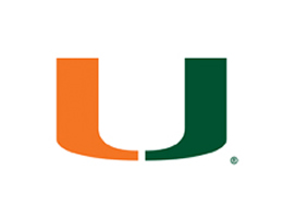 Green Miami Hurricanes Roller Shades