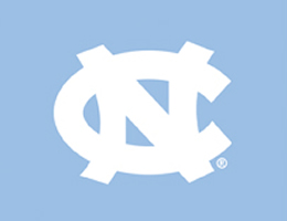 Blue North Carolina Tar Heels Roller Shades
