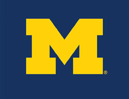University Of Michigan Blinds Michigan Wolverines Roller