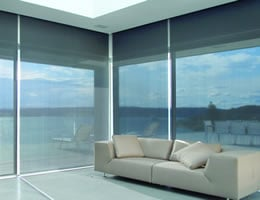 Grey Designer 5%-10% Solar Screen Shades