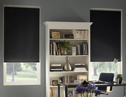 Grey Twilight Blackout Roller Shades