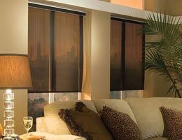 Brown EcoGreen Roller Shades