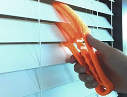 MicorFiber Window Blinds Cleaner