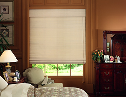 Brown Caman Exotic Woven Wood Shades
