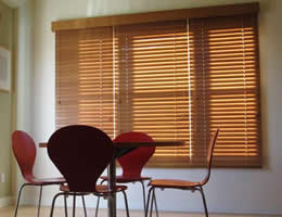 Red Limited Editions 2 inch Wood Blinds
