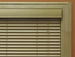 Oak Limited Editions 1 inch Wood Blinds