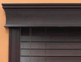 Walnut Limited Editions 5 1/2 inch Estate Wood Cornice