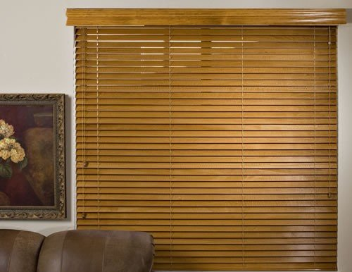 Mahogany Platinum 2 inch Wood Blinds