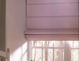 Tan Asante Light Filtering Roman Shades