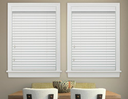 "Cream Good Housekeeping 2"" Wood Blinds"