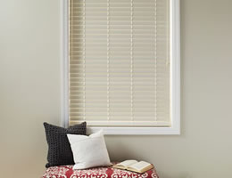 "Blue Good Housekeeping 2"" Polymer Wood Blinds"