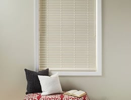 "Cherry Good Housekeeping 2"" Polymer Wood Blinds"