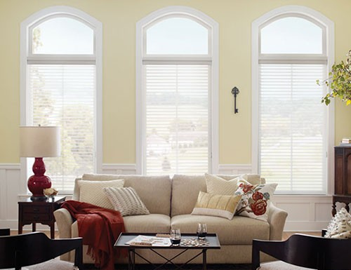 "Good Housekeeping 3"" Light Filter Sheer Shades"