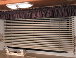 "1"" Aluminum RV Mini Blinds"