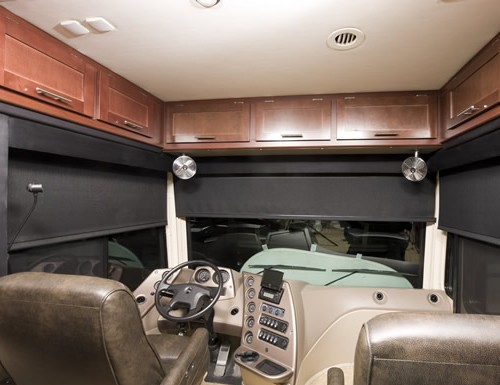 Screen RV Roller Shades