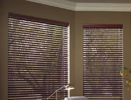 Brown Signature 2 inch Cordless Wood Blinds
