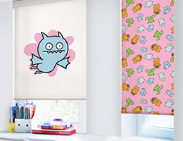 Yellow Uglydoll Roller Shades