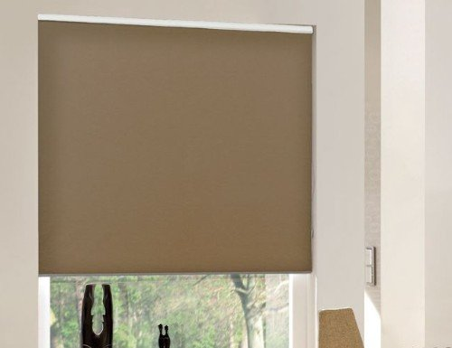 Chestnut Elite Blackout Roller Shades