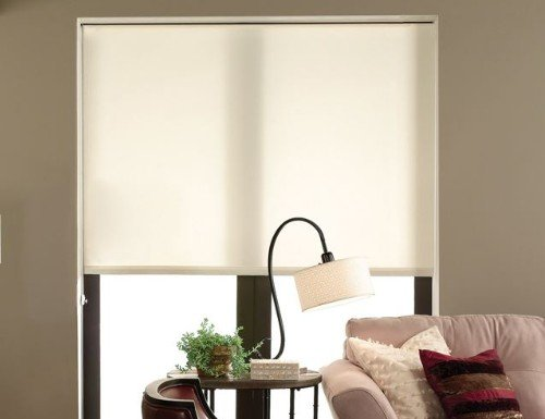 Yellow Elite Light Filtering Roller Shades