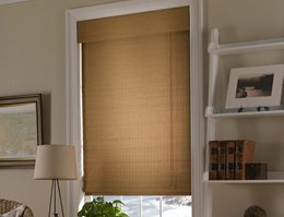 Green Honolua Matchstick Woven Wood Shades