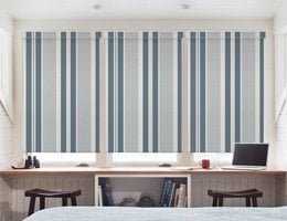 Black John Gidding Blackout Roller Shades