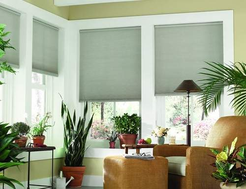 "Sunlera Cordless 3/8"" Single Cell Shades"