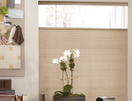 Chestnut Sunlera Cordless TDBU 1/2 inch Single Cell Shades