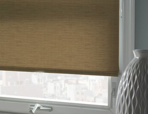 Red Good Housekeeping Room Darkening Roller Shades