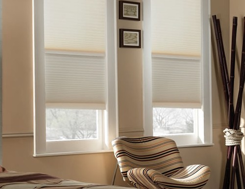 "Sunlera Cordless 1/2"" Day/Night Cellular Shades"