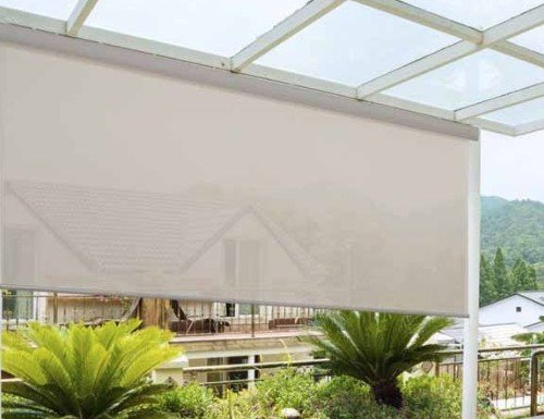 Brown Sunlera Exterior Sun Screen Shades