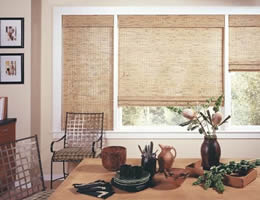 Quick Ship Bamboo Shades - Express Woven Wood Shades Fast