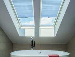 "Premier 9/16"" Blackout Skylight Cell Shades"