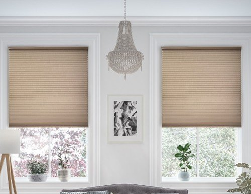 "Express Cordless 9/16"" Translucent Cell Shades"