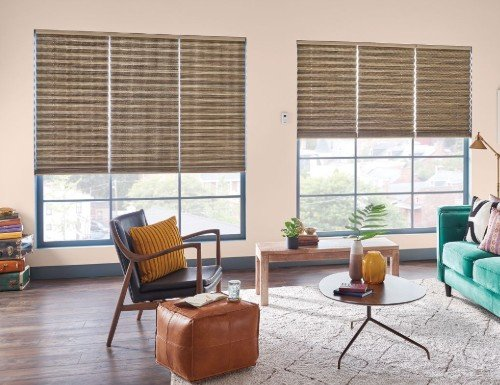 "Tan Bali 2"" Neat Pleat Shades"
