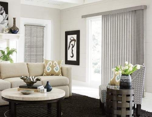 Bali Fabric Vertical Blind