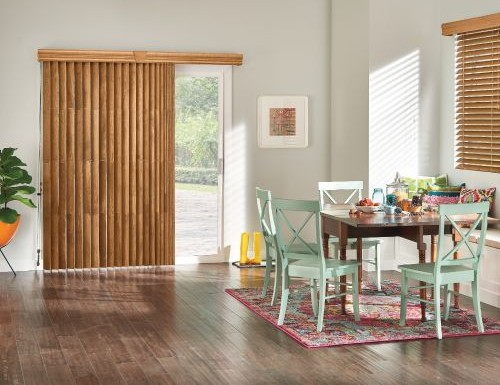 Bali Wood Vertical Blinds