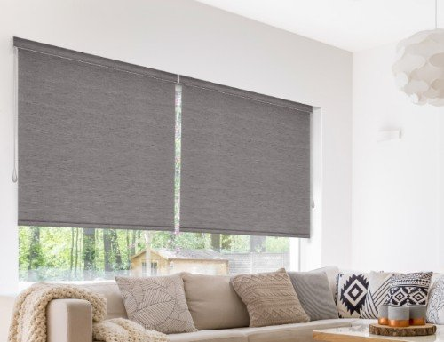 premium light filtering roller shade - Motorized Roller Shades
