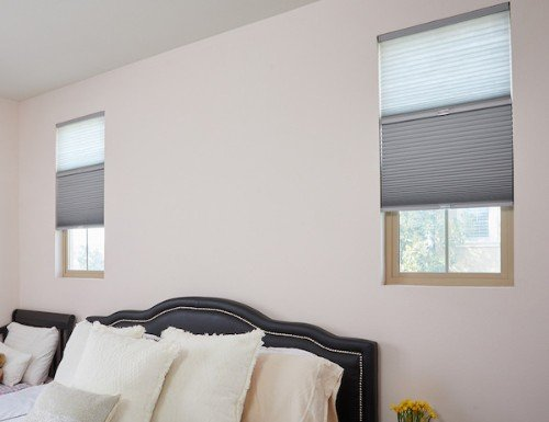 Tan Express Cordless 9/16 inch Day/Night Cellular Shades