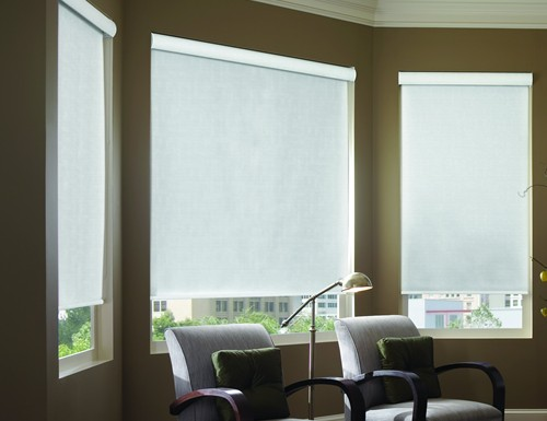 Modern Light Filtering Roller Shades