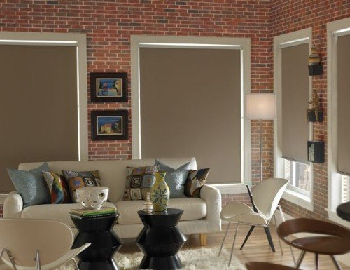 Modern Blackout Roller Shades
